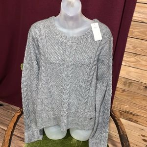 NWT Chunky Knit Hollister Sweater Size Large